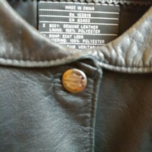 Harley Davidson woman's riding vest